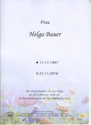 Helga Bauer