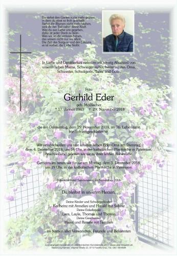 Gerhild Eder