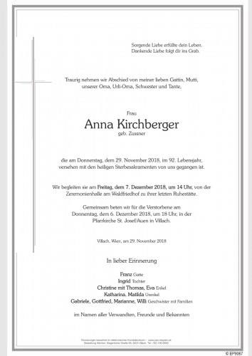 Anna Kirchberger