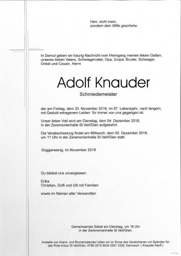 Adolf Knauder