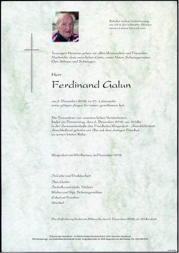 Ferdinand Galun