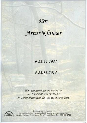 Artur Klauser
