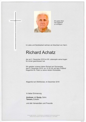 Richard Achatz
