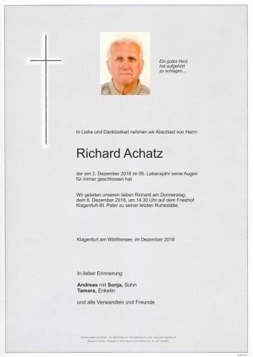 Richard Achatz