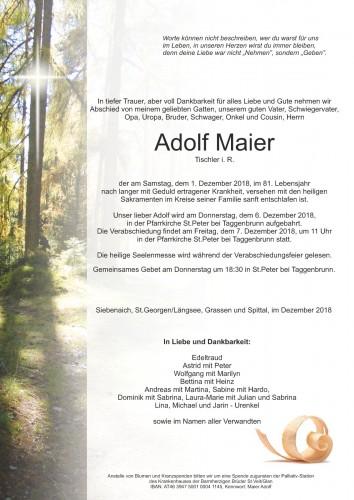 Adolf Maier