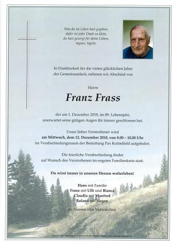 Franz Frass