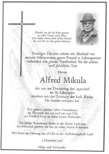 Alfred Mikula