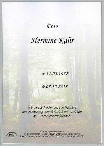 Hermine Kahr