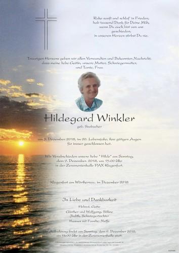 "Hildegard Winkler  ""Hilde"""