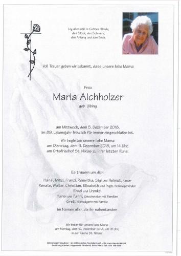 Maria Aichholzer