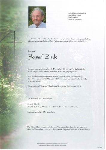 Josef Zink