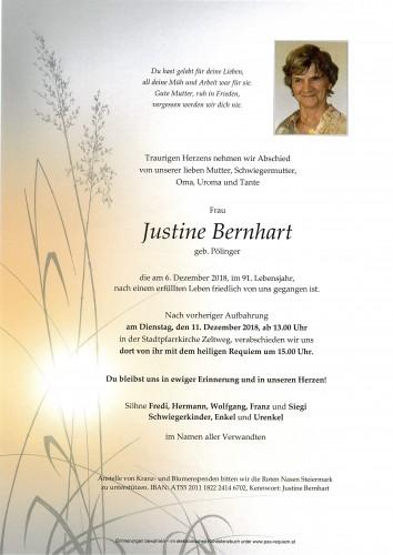 Justine Bernhart