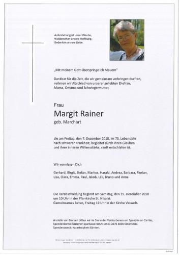 Margit Rainer