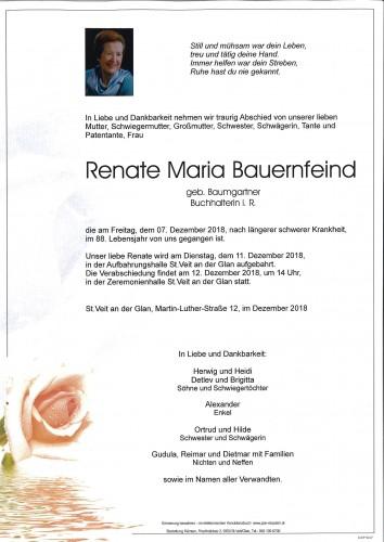 Renate Maria Bauernfeind