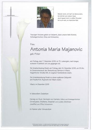 Antonia Maria Majanovic
