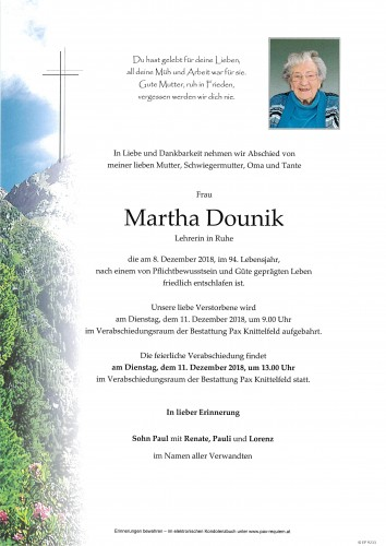 Martha Dounik