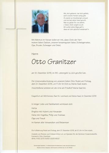 Otto Granitzer