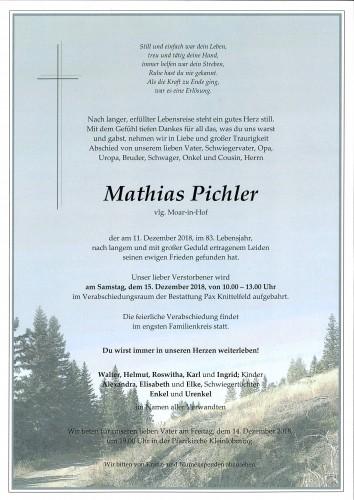 Mathias Pichler