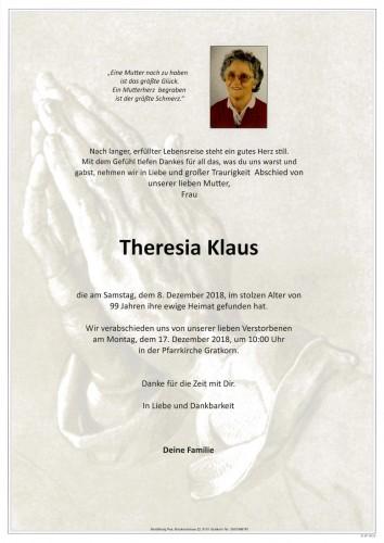 Theresia Klaus