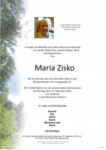 Maria Zisko