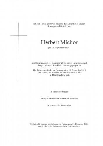Herbert Michor