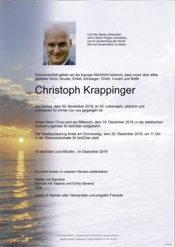 Christoph Krappinger