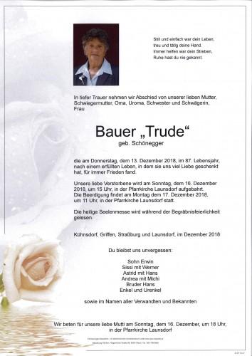 Edeltrude Bauer