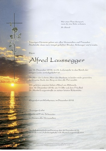 Alfred Laussegger