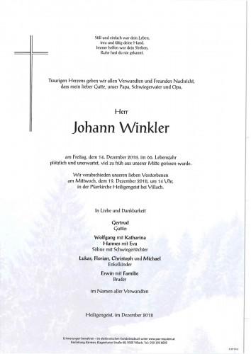 Johann Winkler