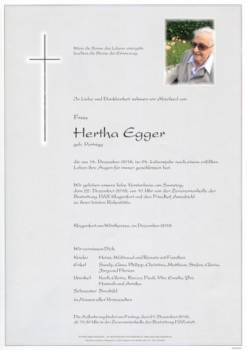 Hertha Egger