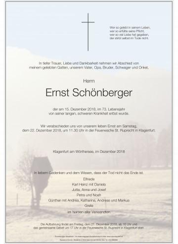 Ernst Schönberger
