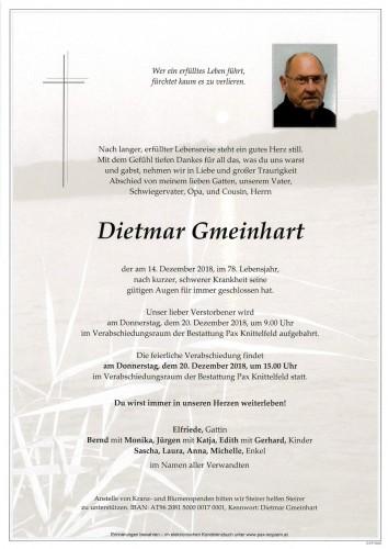 Dietmar Gmeinhart