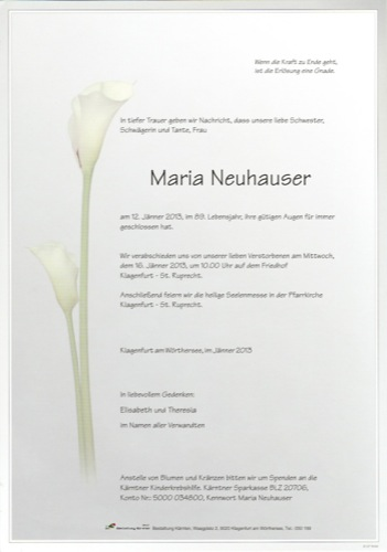 NEUHAUSER Maria