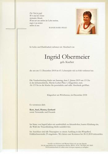 Dr. Ingrid Obermeier