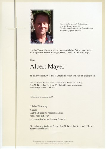Albert Mayer