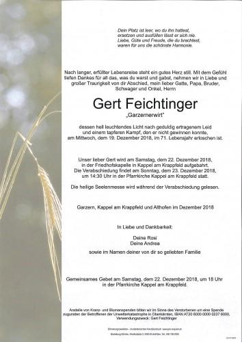 Gert Feichtinger