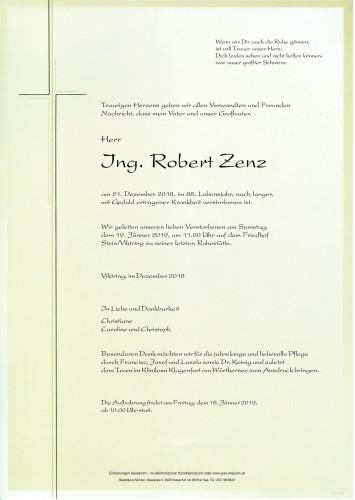 Ing. Robert Zenz