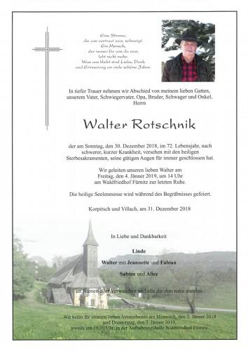 Walter Rotschnik