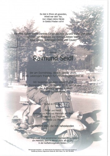 Raimund Seidl