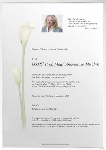 Prof. Mag. Annemarie Mischitz
