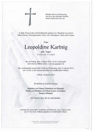Leopoldine Kartnig