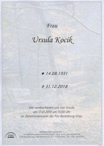 Ursula Kocik