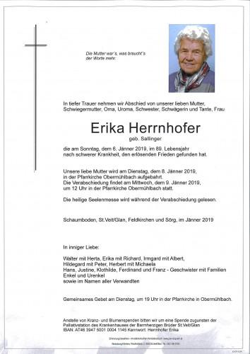 Erika Herrnhofer