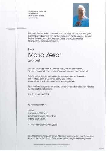 Maria Zesar