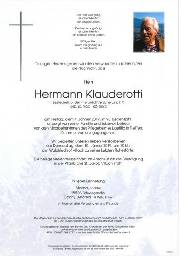 Hermann Klauderotti