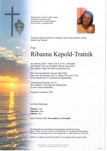 Ribanna Kepold-Tratnik