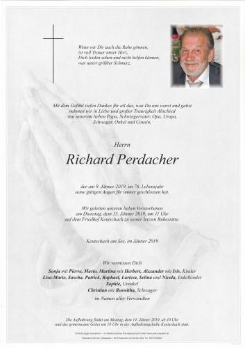 Richard Perdacher