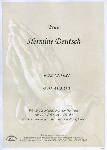 Hermine Deutsch
