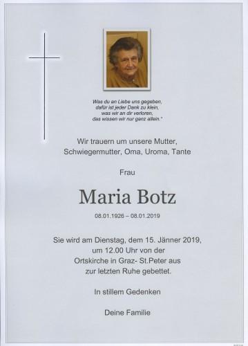 Maria Botz