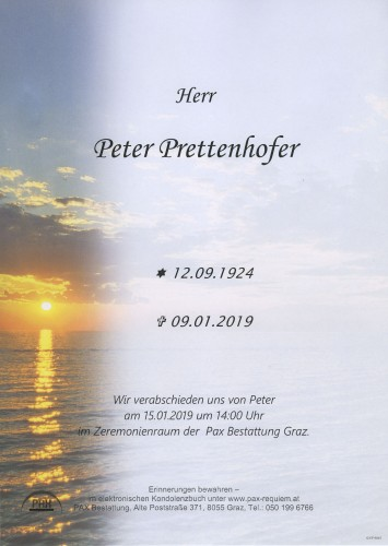 Peter Prettenhofer